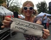 Chocolate Money Bag