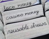 Casino Money Bag