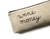 Wine Money Bag