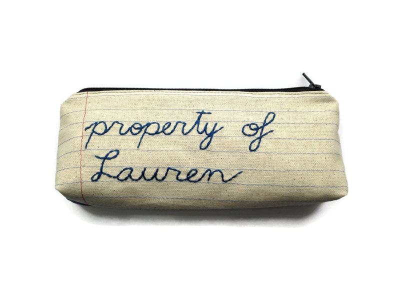 Custom Zipper Pouch  property of  Personalize Your Own  image 0