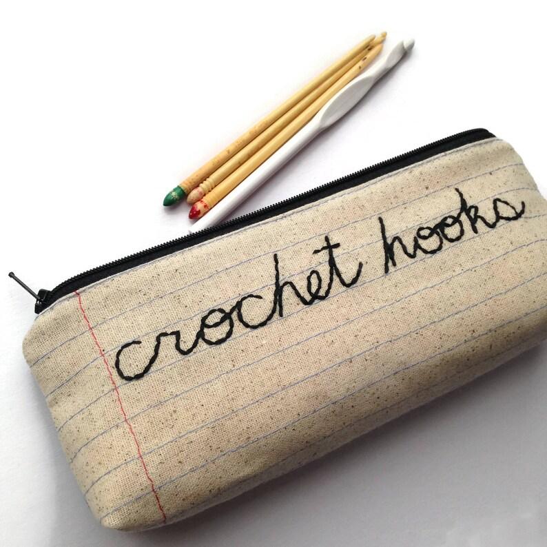 Crochet Hooks Holder Zip Bag Wholesale Case Pack of 10