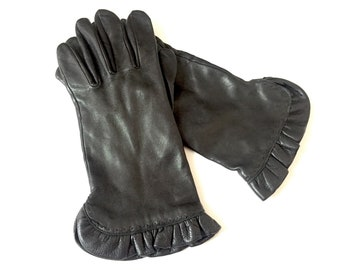 039e3f4181a16 Womens Winter Gloves - Womens Gloves Leather - Danier Leather Gloves for  Women - Size Medium - Womans Gloves Women - Driving Gloves Ladies
