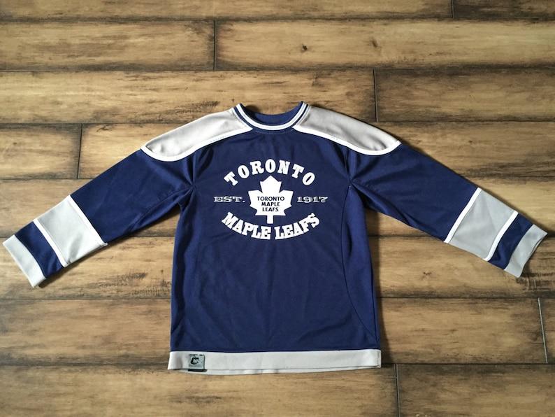 best service eb60d b24d4 Toronto Maple Leafs Jersey - Hockey Jersey - NHL Hockey Jersey - Childs  Kids Childrens Size Medium