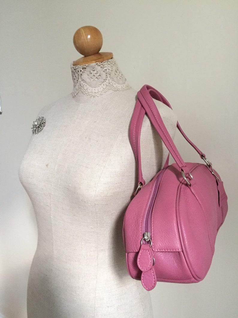 e414fdb92ba3 Danier Leather Purse Shoulder Bag Vintage Handbag Danier