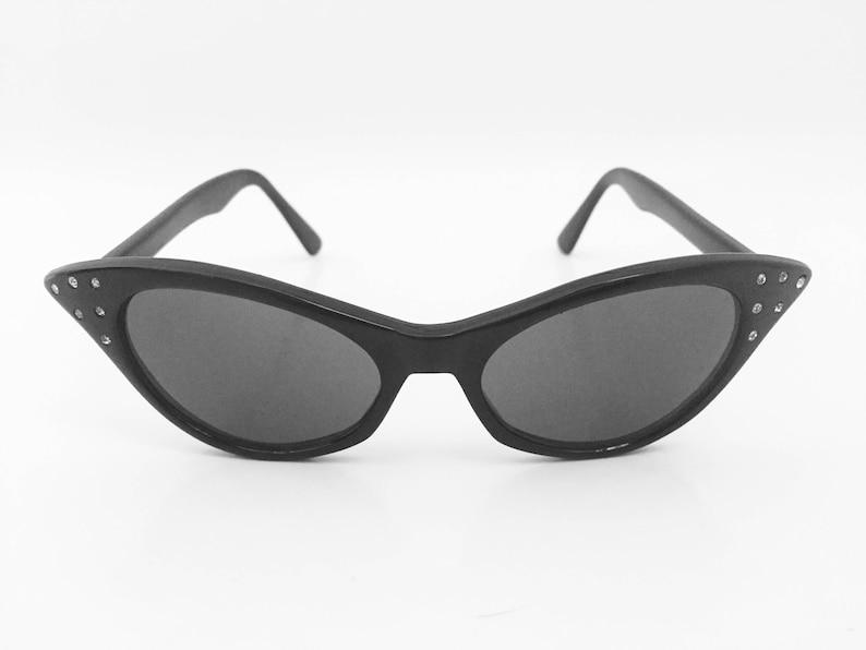 64a87d6eaa Cat Eye Sunglasses Black Cateye Sunglasses Vintage Cat Eye