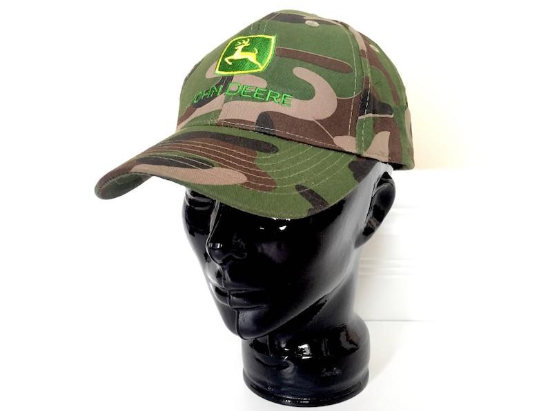 d20e6124b36 Vintage John Deere Hat Camo Hat Men Mens Hat Camouflage