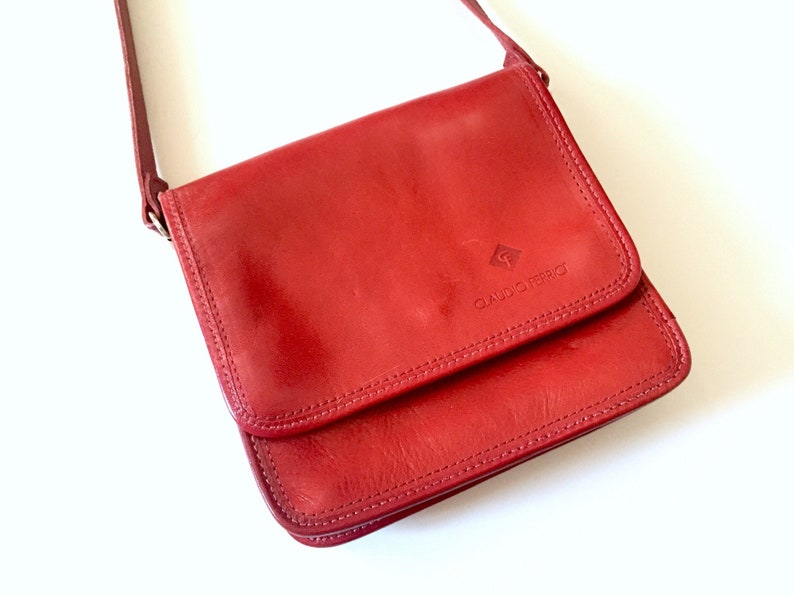 97631611e6149 Leather Purse Womens Shoulder Bag Leather Red Leather