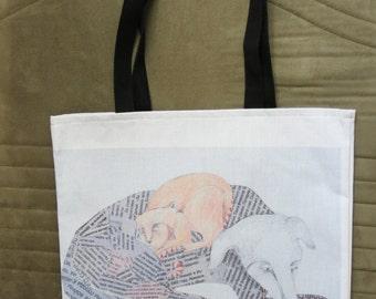 Dog-and-Cat Tote Bag