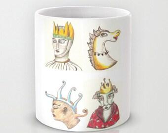 Four-Faces mug