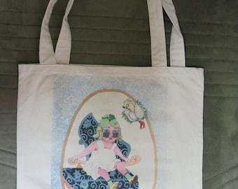 Little-Girl  Tote Bag
