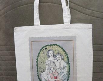 Three  Girlfriends  Tote Bag