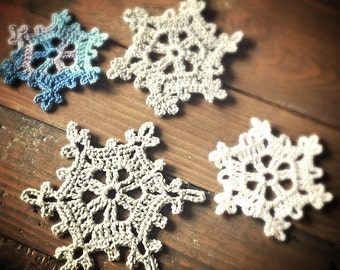 Instant Download Crochet PATTERN PDF Snowflake
