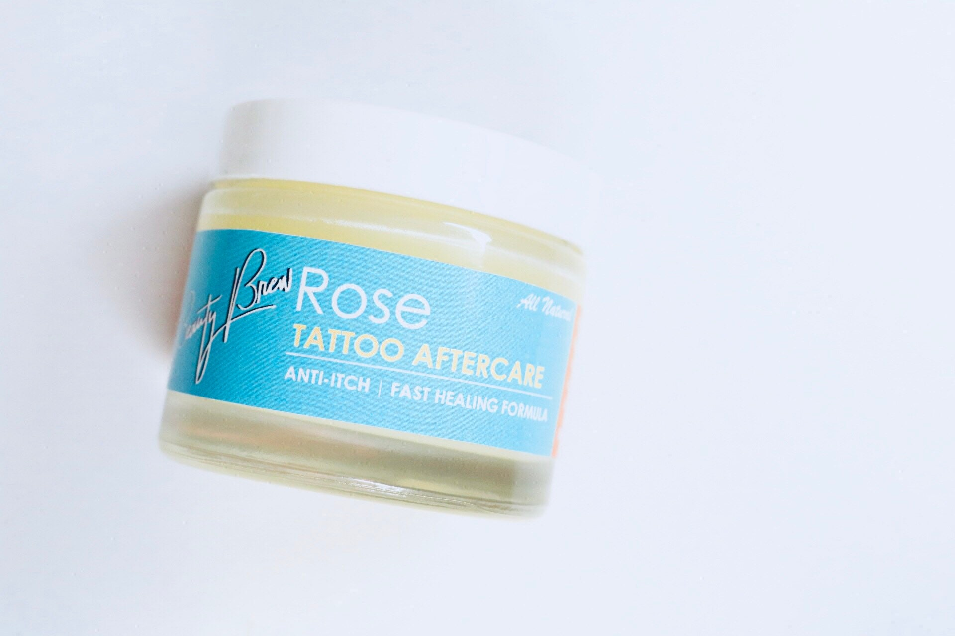 Tattoo Aftercare Balm W Rose Oil Anti Itch Fast Healing Etsy
