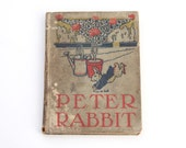 Antique Book The Tale Of Peter Rabbit By Beatrix Potter 1904