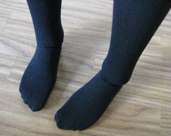 Solid semi-opaque tights for SD 13 ball-jointed dolls