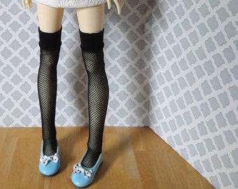 Fishnet thigh highs stockings knee socks for SD 13 ball-jointed dolls