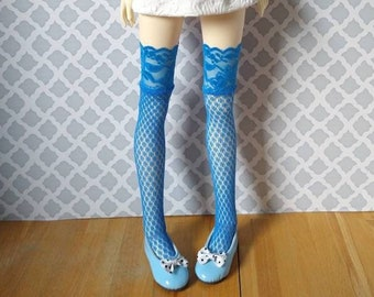 """Limited edition lace top thigh highs stockings knee socks for 16-23"""" fashion dolls, MSD, SD 13 BJDs"""