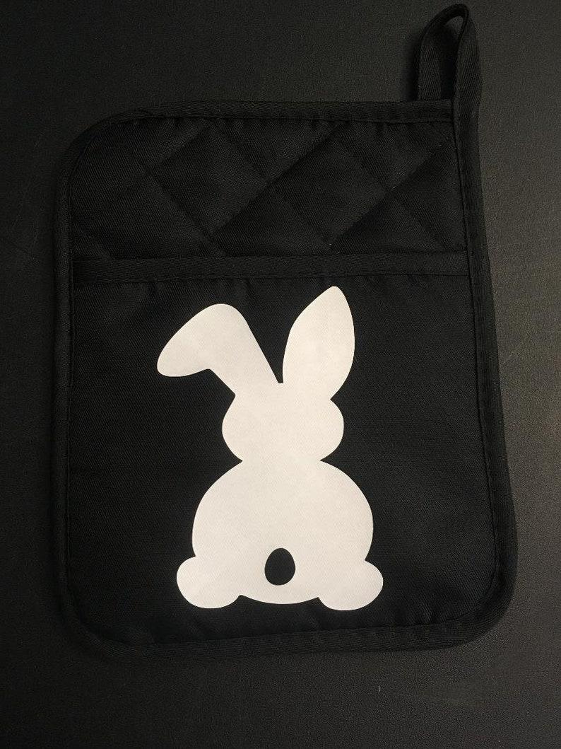 Easter Bunny Pocket Potholder