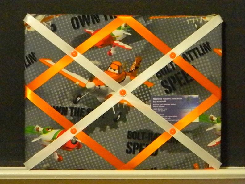 11 x 14 Disney Planes Movie (Dusty and El Chupacabra) Memory Board