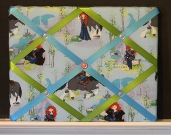 11 x 14  Merida Disney Princess from Brave Memory Board
