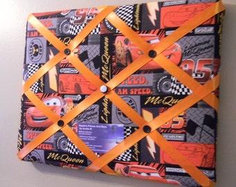 11 x 14 Lightning McQueen Cars Memory Board
