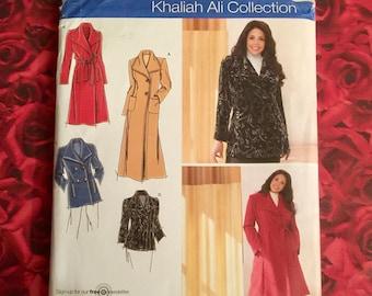 Uncut Simplicity Khaliah Ali Sewing  Pattern #4672