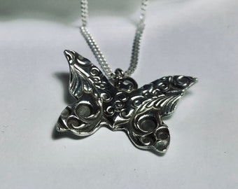 Silver Butterrly Necklace