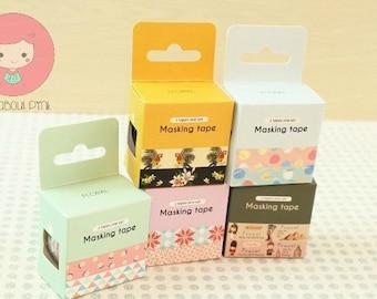 Box of Washi tape - 2 pcs