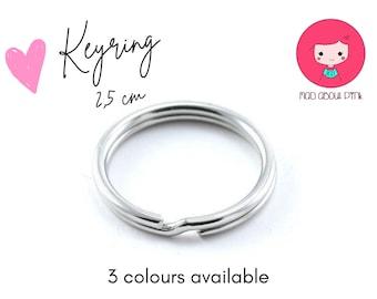 "Key Rings -1"" / 25mm Split Key Ring - Key Fob Ring"
