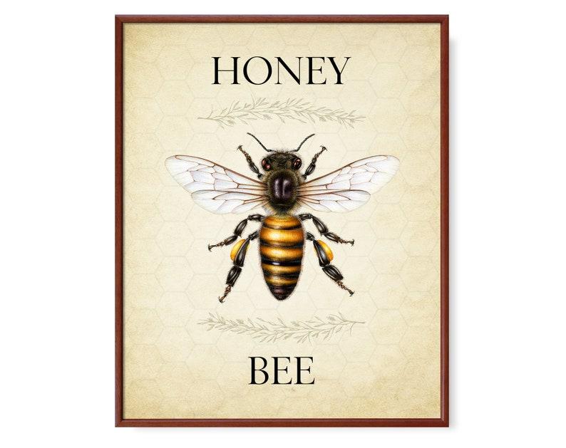 HONEY BEE DECOR Honey Bee Gifts Art