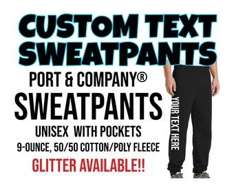 4 Colors Ink Stitch Custom PRM20PNT Women Stitching Textlogo Available Sweat Pants Joggers