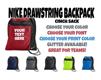 d1114a8290 Custom Nike Cinch Sack