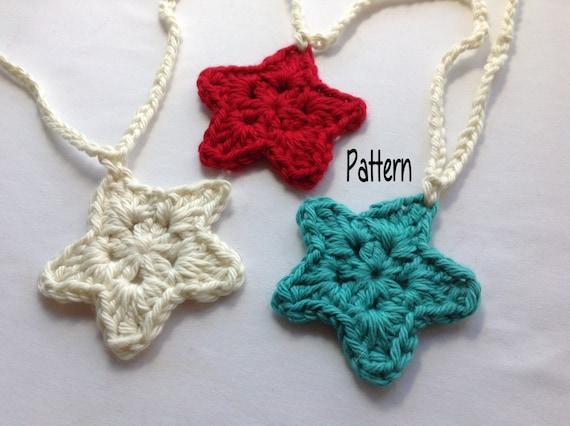 Instant Download Crochet Pattern Crochet Star Garland Etsy