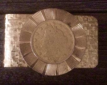Vintage 1908 Liberty Nickel / Liberty Head Nickel Money Clip