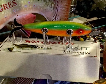 1921 Reissue Winchester Minnow Fishing Lure with Box II