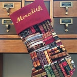 Books Stocking (Personalized)