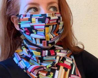 Bookworm Face Mask