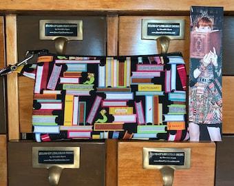 Bookworm Wristlet purse