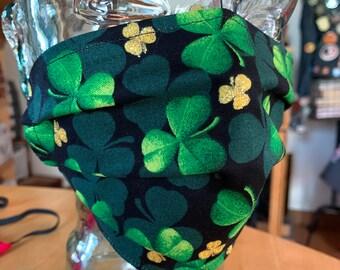 St. Patrick's Day / Shamrock Face Mask