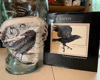 Edgar Allan Poe The Raven Face Mask