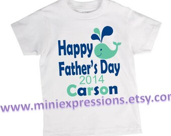 Happy Fathers day shirt Personalized