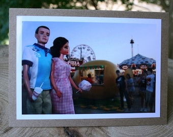 North Texas State Fair and Rodeo note card