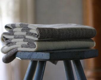 Blackjack Blanket - Hand Woven Merino Wool