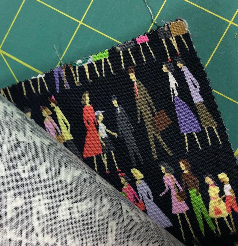 squares Cotton Fabric 42 Saturday Morning by Basic Grey Moda 10