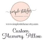 Ten (10) Custom Memory Pillows for Shari L.