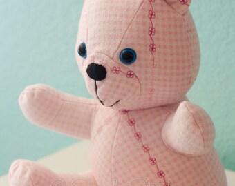 CUSTOM Stuffed Memory OR Regular HowJoyful Bear | Stuffed Bear | Memory Bear | Custom Bear | Custom Stuffed Bear