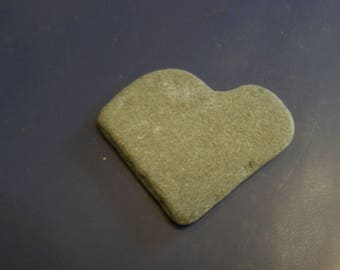 Natural Stone Heart Shaped Rock from Lake Superior -- #11