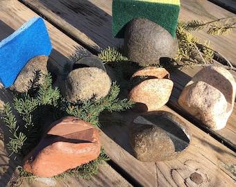 Rock Sponge Holder;  Sellers Choice;