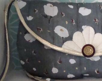 Nani Iro Golden poppy RETRO Messenger bag