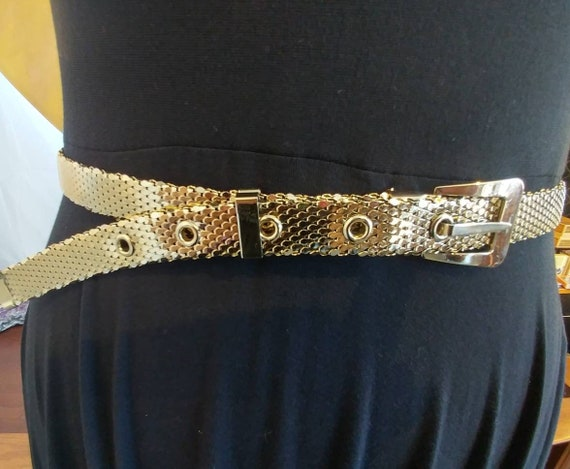 Whiting and Davis Gold Medal Woven Belt